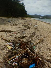 This is our SORCE beach because the tides have turned to bring in more rubbish rather than wash it out to sea